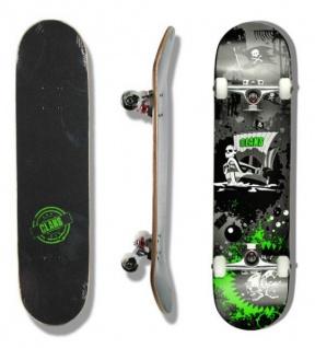 Clans Skateboard Komplettboard Pirate Attack 8.0 x 31.0 inch - Komplett Skateboard