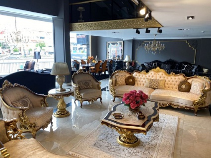 Casa Padrino Luxus Barock Sofa Silber / Braun / Gold - Prunkvolles Barockstil Wohnzimmer Sofa - Barock Möbel - Vorschau 3