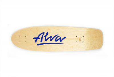 Alva Skateboard Cruiser Deck Re-Issue Twilight 29.75 x 7.88 inch - Skateboard Cruiser Holz Deck