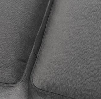 Casa Padrino Luxus Sitzbank Grau / Messingfarben 125 x 58 x H. 45 cm - Designermöbel - Vorschau 5