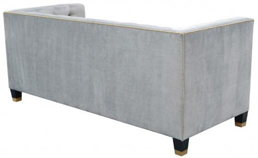 Casa Padrino Luxus Chesterfield Wohnzimmer Sofa 200 x 84 x H. 83 cm - Verschiedene Farben - Luxus Möbel - Vorschau 4