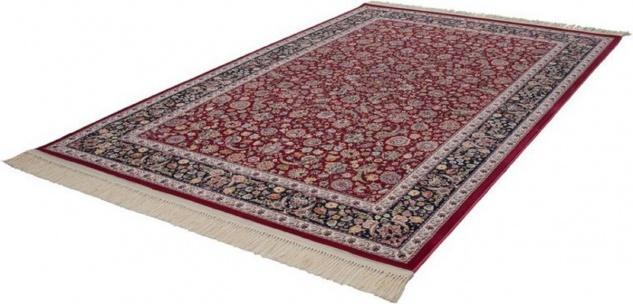 Casa Padrino Luxus Teppich mit Fransen Rot - Verschiedene Größen - Gemusterter Wohnzimmer Teppich - Deko Accessoires - Vorschau 2