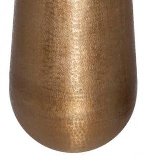 Casa Padrino Aluminium Vase Gold Ø 35 x H. 100 cm - Luxus Deko Vase - Vorschau 3