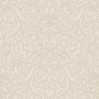 Casa Padrino Barock Textiltapete Creme / Beige 10, 05 x 0, 53 m - Deko Accessoires