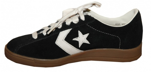 Converse Skateboard Schuhe Trainer Ox Black/Parchment Sneakers Shoes