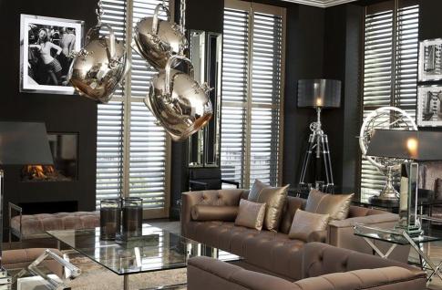 Casa Padrino Designer Sofa Taupe - Luxus Kollektion - Vorschau 3