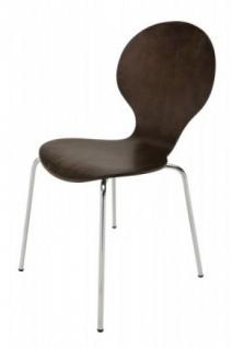 Casa Padrino Designer Stuhl Form Coffee 13
