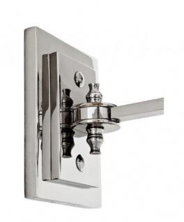 Casa Padrino Luxus Wandleuchte Nickel - Luxus Leuchte - Vorschau 3