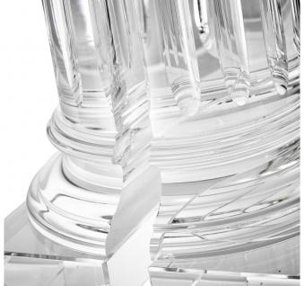 Casa Padrino Kristallglas Buchstützen 2er Set 17 x 8, 5 x H. 21 cm - Designer Hotel Deko - Vorschau 4