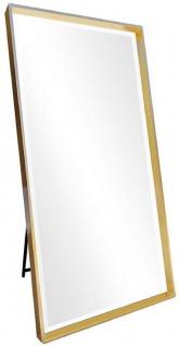 Casa Padrino Luxus Standspiegel Gold 100 x H. 200 cm - Ganzkörperspiegel - Schlafzimmer Spiegel - Schlafzimmer Möbel