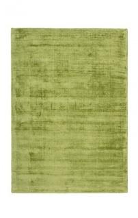 Casa Padrino Designer Teppich Vintage Look Viscose Grün - Handgefertigt - Möbel Teppich