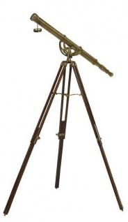 Casa Padrino Designer Teleskop 102 x 102 x H. 158 cm - Luxus Kollektion