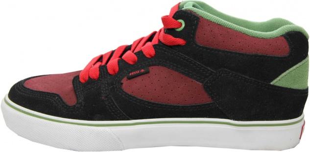 Emerica Skateboard Schuhe HSU Black / Red - Sneaker Sneakers Skateboard Shoes