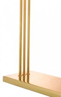 Casa Padrino Luxus Schreibtisch Leuchte Messing poliert - Leuchte Lampe - Tischleuchte Tischlampe - Vorschau 3