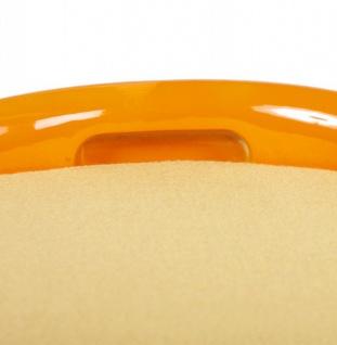 Casa Padrino Designer Hocker Orange mit Sitzpolster und Stauraum unter dem Sitz - Vorschau 5