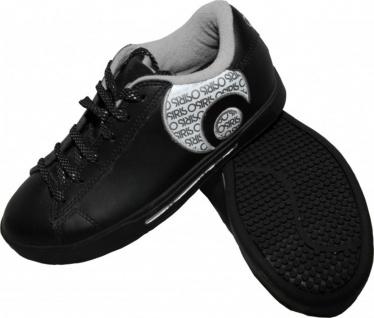 Osiris Skateboard Schuhe Serve Icon Girls Black/White/Silver Sneaker Shoes