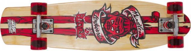 Mindless Voodoo Complete Longboard Rustler Red Komplettboard Komplett mit Koston Kugellagern