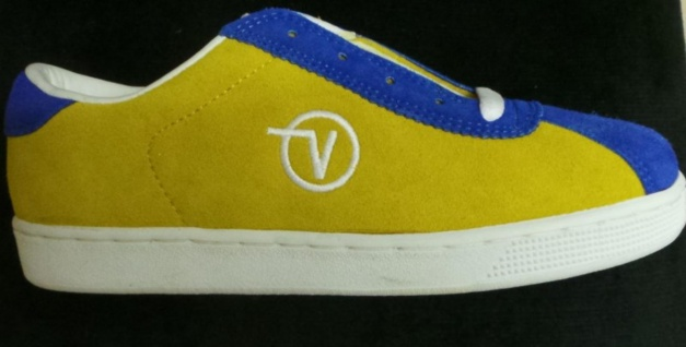 Vans Sportschue-Lucy- Gold/Royal Blue- 1B Ware