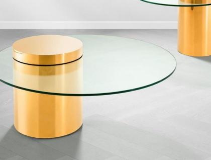 Casa Padrino Art Deco Luxus Couchtisch Gold - Limited Edition - Vorschau 4