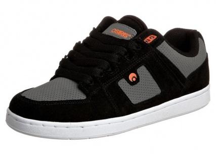 Osiris Skateboard Schuhe --OS 96- schwarz/Charcoal/Orange