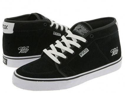 Vox Skateboard Schuhe Vato Vato Schuhe Black Suede / White Beliebte Schuhe f742d6