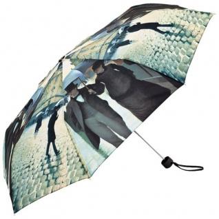 """MySchirm Designer Taschenschirm Motivschirm Gustave Caillebotte: """" Paris im Regen"""" - Eleganter Regenschirm - Luxus Design"""