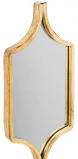 Casa Padrino Designer Metall Spiegel Set Gold 148 cm - Luxus Wandspiegel 2er Set - Vorschau 2