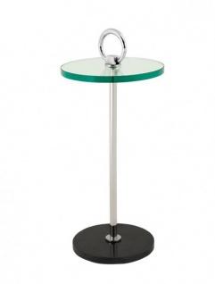 Casa Padrino Luxus Art Deco Designer Beistelltisch 30 x H. 66 cm - Luxus Qualität