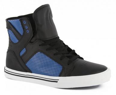 SUPRA Skateboard Schuhe Skytop Kids Blau/Schwarz - Vorschau