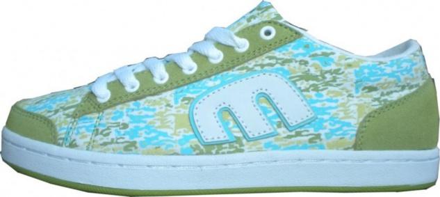 Etnies Skateboard Schuhe Lo Pro Baller Green/White