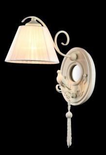 Casa Padrino Barock Figuren Wandleuchte Weiß 18 x H 45 cm Antik Stil - Wandlampe Wand Beleuchtung