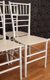 4er Set Designer Acryl Stuhl Weiß - Casa Padrino Ghost Chair Möbel Designer Möbel - Polycarbonat Stühle - Vorschau 2