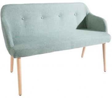 Casa Padrino Designer Sitzbank Hellgrün Breite 116 cm, Höhe 57 cm - Vorschau 1