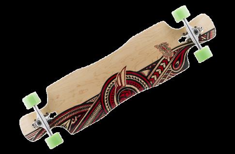 Mindless Complete Longboard Wreather II Drop Through 41.0 x 10.0 inch - Dropthrough Profi Longboard mit Koston Kugellagern