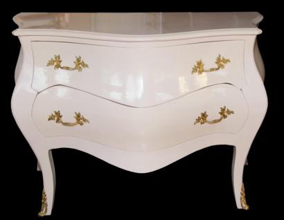 Casa Padrino Barock Kommode Rosa / Gold 130 x 87 x 58 cm - Barock Möbel - Limited Edition - Vorschau 2