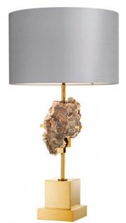 Casa Padrino Designer Tischleuchte / Tischlampe - Luxus Kollektion