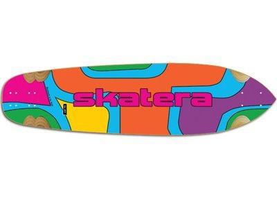 """Jet Skateboard Longboard Skatera by Jet Rapture ColorTheory Longboard Deck 9.85"""" x 36"""""""