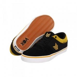 Vox Skateboard Schuhe Passport Black/Gold/White Black/Gold/White Black/Gold/White c625ce