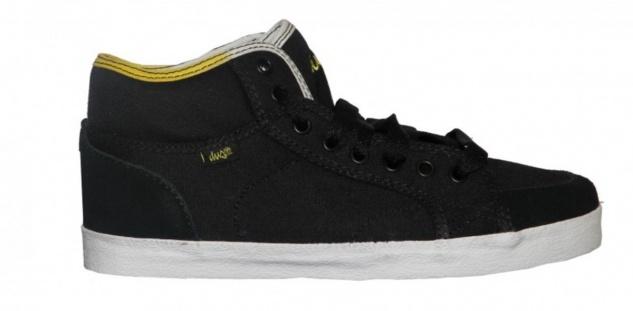DVS Skateboard Damen Schuhe Rana Black Canvas