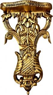 Casa Padrino Barock Wandkonsole Gold - Konsole Antik Stil Wandstuck Stuck Ornament