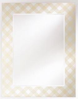 Casa Padrino Designer Wandspiegel Bronze 98 x H. 125 cm - Wohnzimmer Spiegel - Garderoben Spiegel - Luxus Möbel