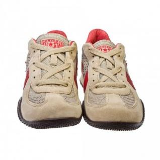 Converse Schuhe Targa OX Khaki/Red/Choc Trainers Skateboard Shoes Sneaker Sneakers - Vorschau 3