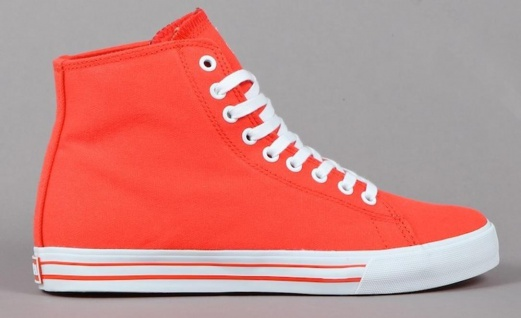 SUPRA Skateboard Styler Schuhe Thunder Summer Red / Orange