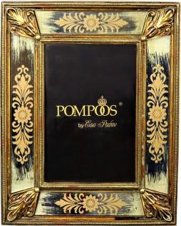 Pompöös by Casa Padrino Barock Bilderrahmen Gold von Harald Glööckler 23 x 17.6 cm - Antik Stil Foto Rahmen
