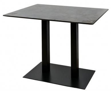 Casa Padrino Luxus Bartisch mit mineralbeschichteter Tischplatte 110 x 70 x H. 100 cm - Luxus Kollektion