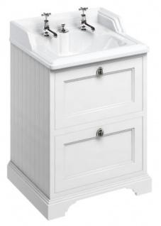 Casa Padrino Keramik Waschschrank mit 2 Schubladen - Luxus Waschtisch