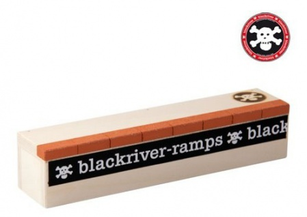 Black River Ramps Fingerboard Obstacle Brick Box - Fingerboard Ramp Rampe
