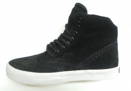 SUPRA Skateboard Boots Black/White