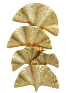 Casa Padrino Luxus Messing Wandleuchte - Designer Kollektion