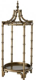 Casa Padrino Luxus Schirmständer Antik Messing 31 x H. 69, 5 cm - Designer Accessoires